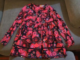 Vestido de niña, marca Señoritas,talla 6.