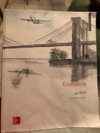 Libro de economía de 4 de la eso