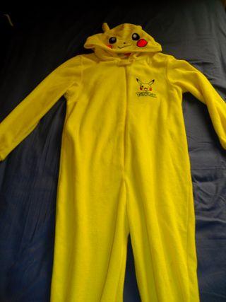 Disfraz Pijama Pokemon Pikachu Nintendo