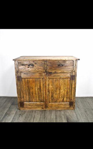 Antiguo mueble-recibidor, rústico, vintage