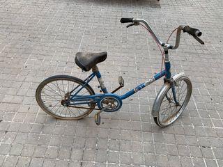 Bicicleta BH plegable años 80