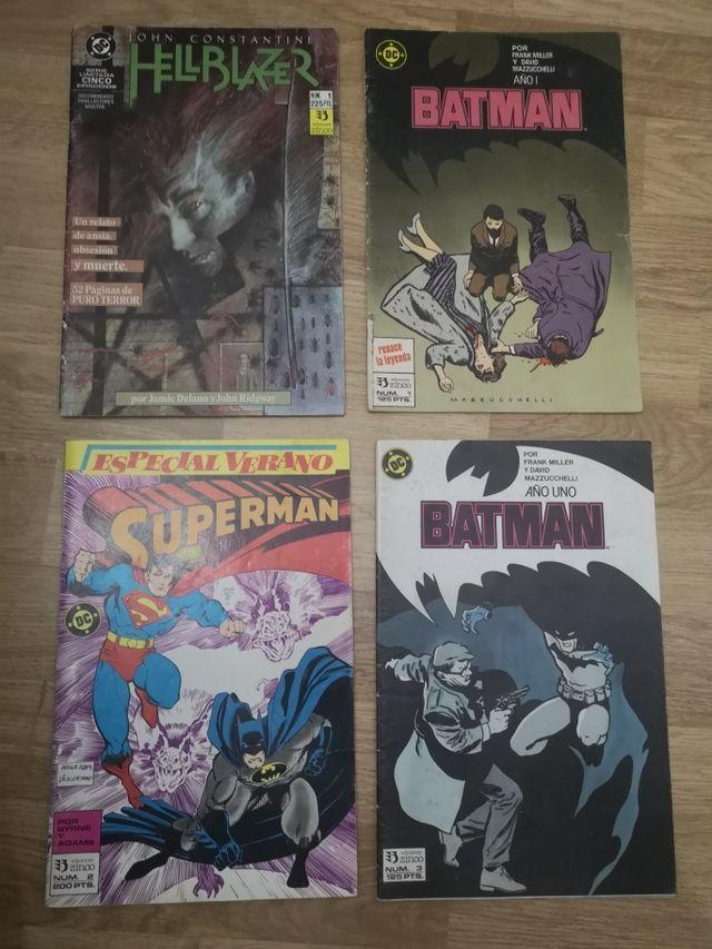 Lote 4 cómics DC
