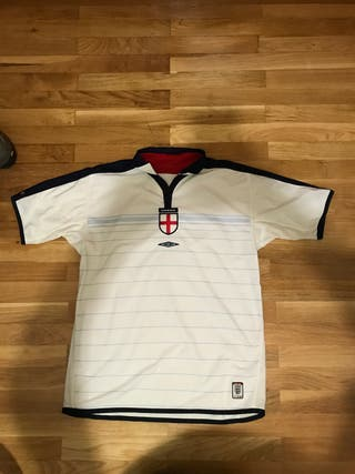 Camiseta seleccion inglesa reversible