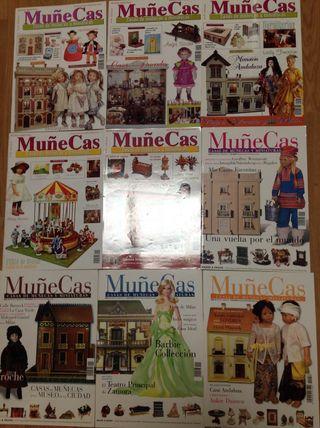 Revistas muñecas miniaturas
