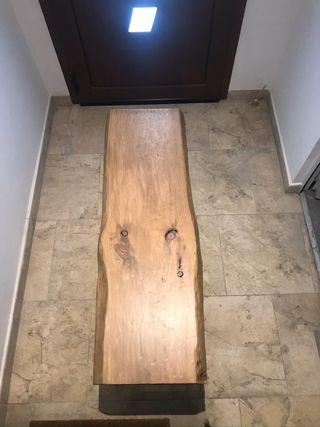 Banco de madera / mueble tv