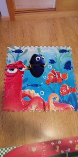 Alfombra puzzle Nemo