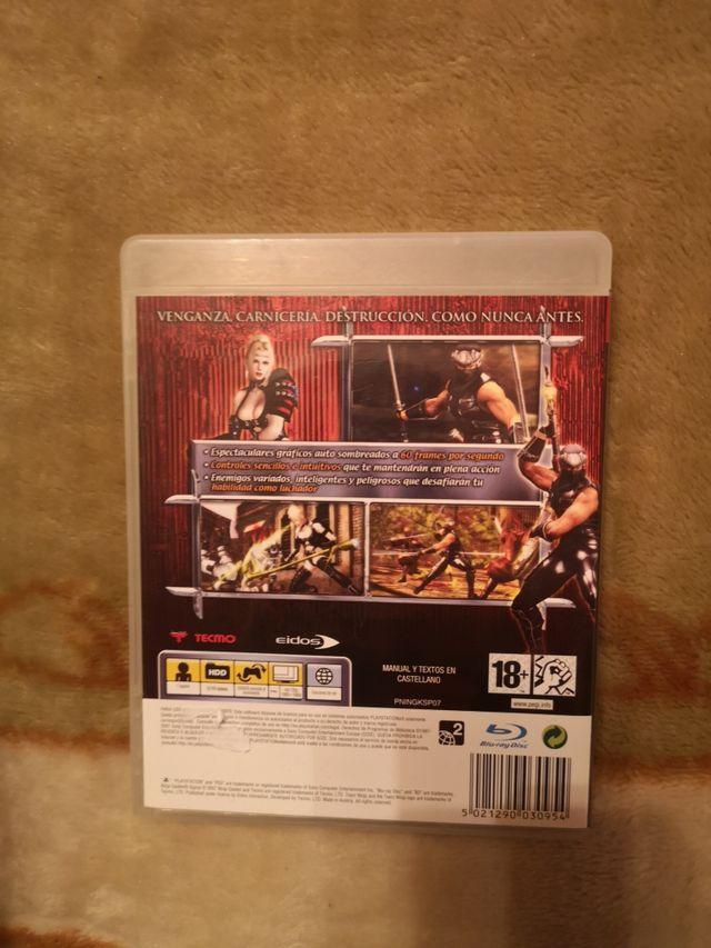Ninja Gaiden Sigma PS3 como nuevo
