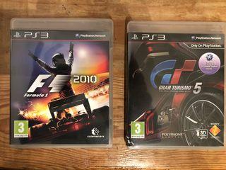 Pack de juegos Ps3 conducción
