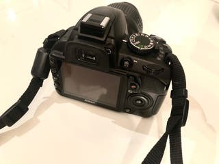 Cámara Nikon D3100 + objetivo 18/55 + funda