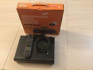 Receptor satélite Echosonic HD9900