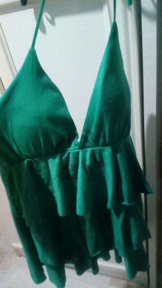 Blusa de tirantes, escotado