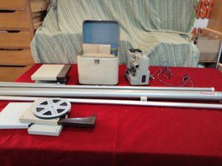 proyector Super8 más pantalla más películas
