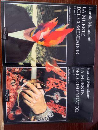 La muerte del comendador 2 libros