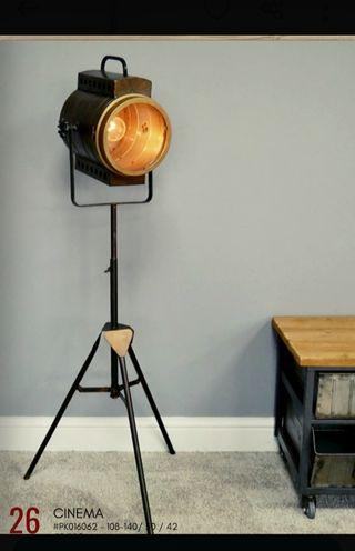 lámpara foco cine industrial