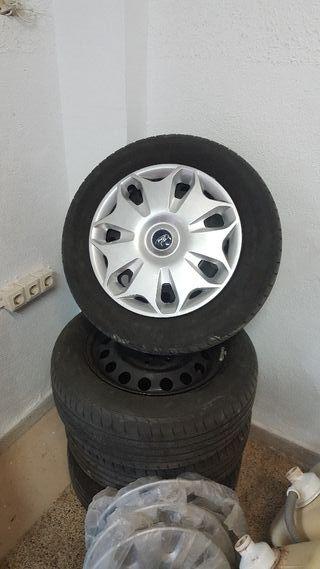 "llantas ruedas tapacubos 16"" Ford"