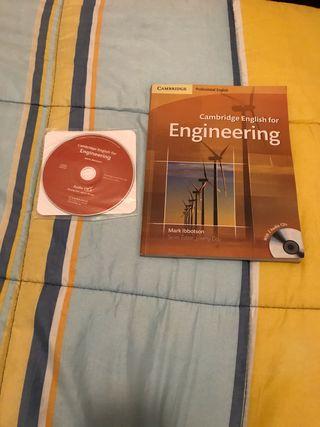 Libro inglés con CD para ingenieros