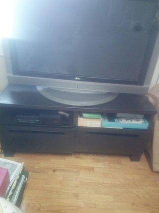 Mueble Tv Color marrón wenge