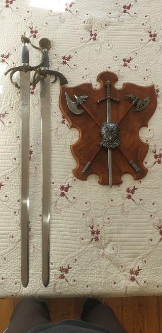 colección espadas