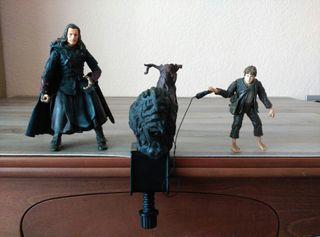 Figuras El Señor de los Anillos (Boromir y Sam)