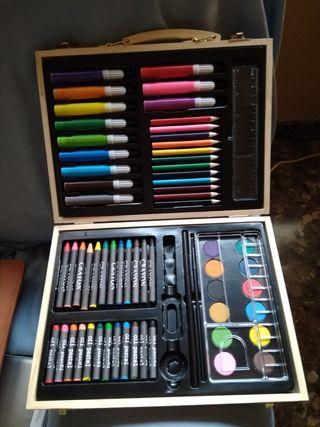 Maletín de colores