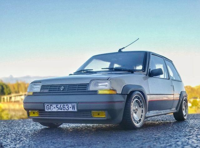 Renault 5gt turbo Norev 1/18