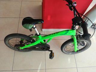 "bicicleta monty 103 aluminio 16"" pulgadas"
