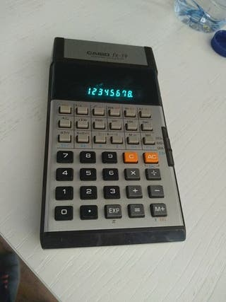 casio, calculadora, antigua