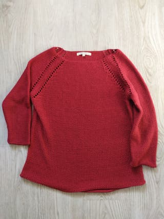 Jersey mujer rojo