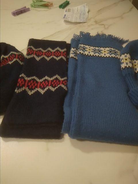 Conjunto de bufanda y gorrito de bebe