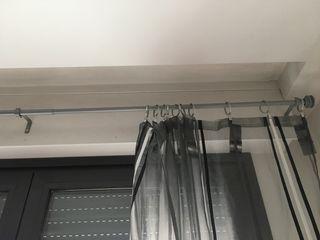 Barra de cortina extensible 110-210 Ikea