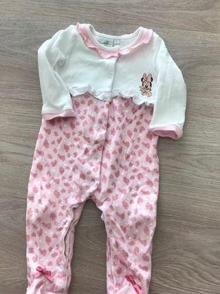 Pijama Ranita disney minnie bebe t 6/12