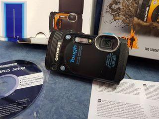 cámara compacta olímpus tg860 con dos baterias