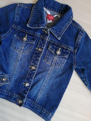 chaqueta tejana niña/nena talla 8 años