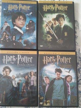 películas DVD Harry Potter