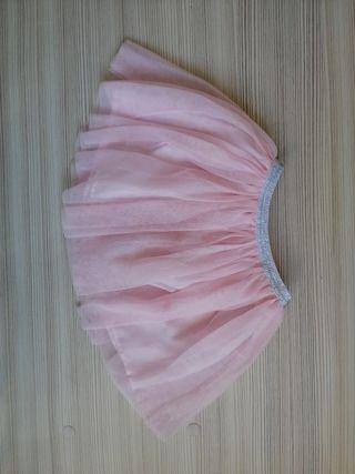 falda Rosa niña/nena talla 5-6 años Zara