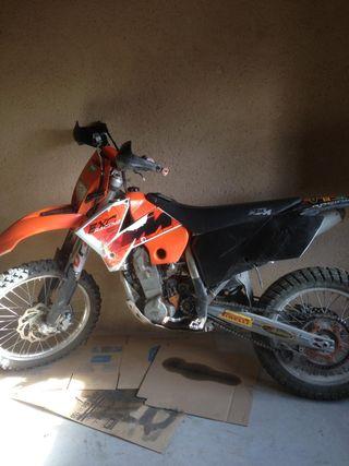 KTM 450 exc 2006
