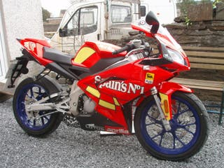 despiece Aprilia RS 50 2007