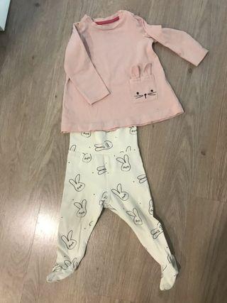 Pijama bebe talla 4/12m perfecto estado