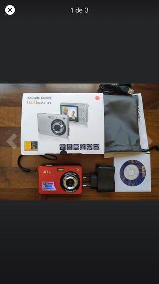 Cámara de fotos HD digital cámara 18 MP