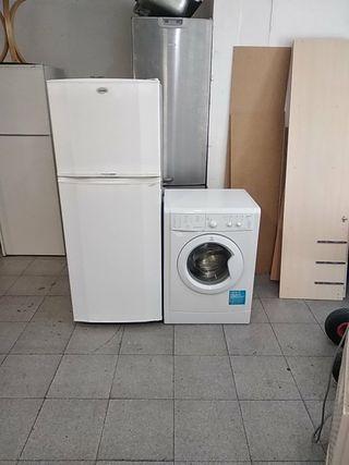 lotes neveras y lavadoras