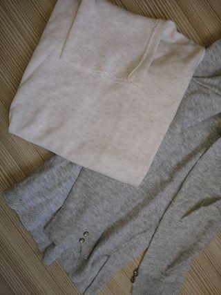 2 jerseis cuello alto nena talla 6 años 116cm Zara