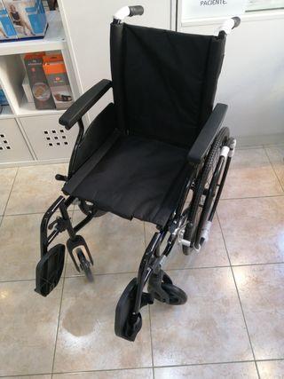 silla de ruedas aluminio NUEVA