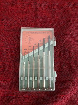 Kit de destornilladores planos de precisión