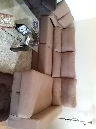 vendo sofá con cheslong
