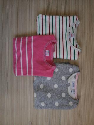 lote 3 jerseis niña talla 7-8 años 128 cm