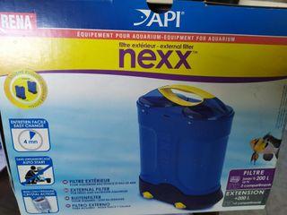 filtro externo agua + 2 extensiones