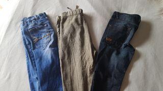 Lote pantalones 11-12 años