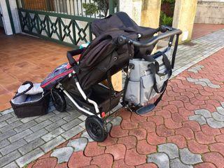 Silla de paseo gemelar Mountain Buggy Duet en Vigo
