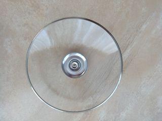 Tapa de cristal para olla o sartén de 20cm