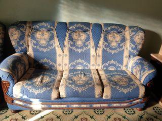 sofá 3 plazas y 2 sillones